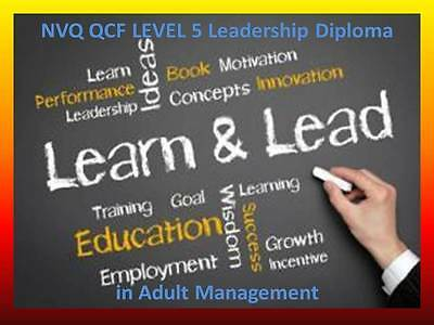 LEVEL 5 DIPLOMA in Leadership and management in health and