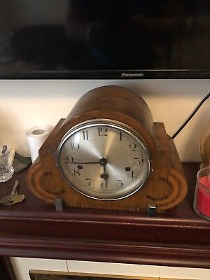 mantle clock, westminster chimes, Art Deco Style