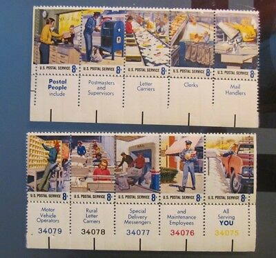 Briefmarken USA 2 * 5 er Block postfrisch