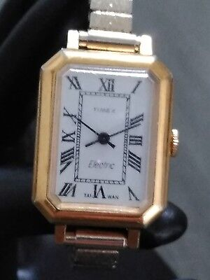 Timex Electric 1960s Vintage Watch Women's