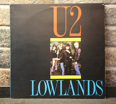 # U2 LOW LANDS FM broadcast and Live at De Melkweg 1980 (ex/ex) Rare LP-R00439