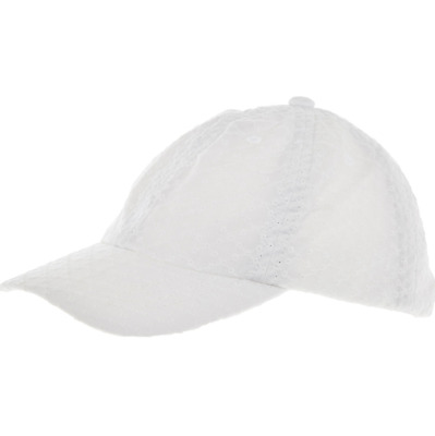 RALPH LAUREN Girls white CAP HAT Embroidery 4-6Y adjustable strap POLO BNWT