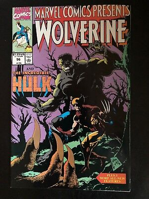Marvel Comics Presents Wolverine and Incredible Hulk 56