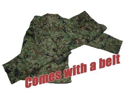 Japan 5570 Ground Self Defense Force camouflage camo L size Comes with a belt