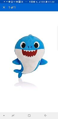 Blue Daddy Shark Official English Singing Plush WowWee Baby Shark USA Pre Order