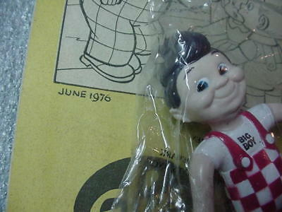 Vintage 1976 Adventures Of The Big Boy Comic # 230 + Figure Doll Collectible