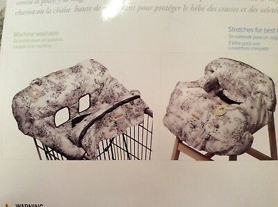 Shopping Cart Cover Infantino Compact 2-in-1 Gender Neutral Highchair cover
