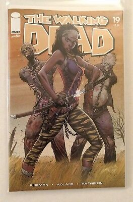 The Walking Dead #19 (Campbell Variant, 15th Anniversary) with Polybag