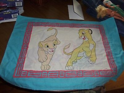 Disney Lion King  Standard Pillowcase - Lots Of Characters!