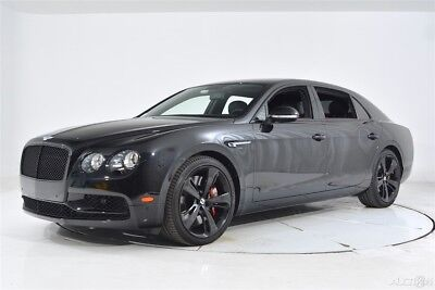 2018 Bentley Flying Spur W12 S 4 Seat 4 Seat Configuration Full Length Console 21 Directional Wheels Sunroof Deep Pile
