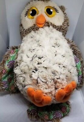 Girl Scout Cookies 100 years and Counting soft Plush Owl 10 inch stuffed animal