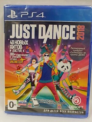 Just Dance 2018 PS4 NEW / SEALED