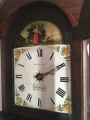 Antique long-case grandfather clock pre-1900