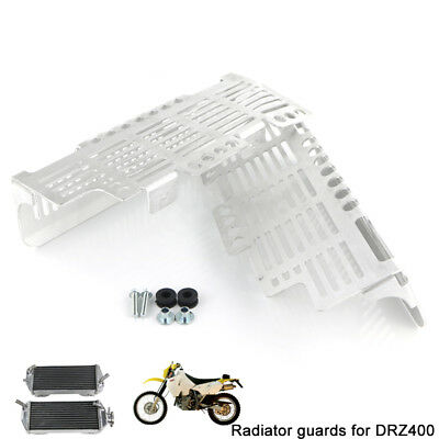 Radiator Protector Guard Grill Cover For Suzuki DRZ400 DRZ400E DRZ400S DRZ400SM