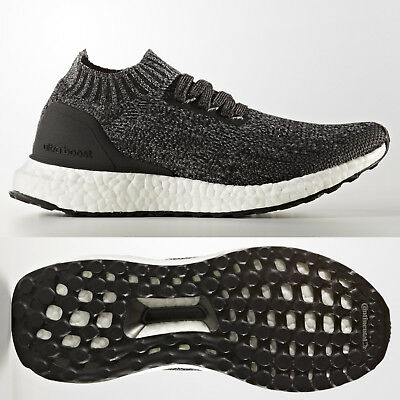 df67e55ea20a1 adidas UltraBOOST Uncaged Junior Running Shoes Black Grey Ultra Boost Kids  3-6.5