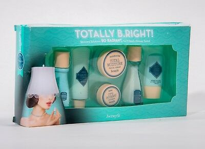 BNIB Benefit Totally B.Right! Skincare Gift Set 6 Items Travel Size RRP £20