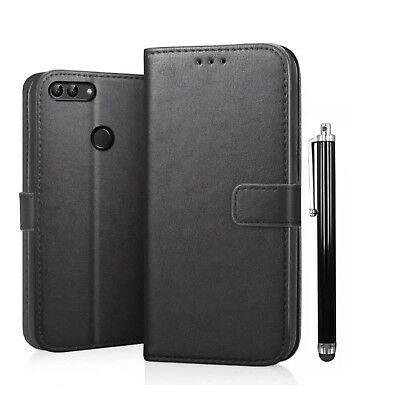 Case For Huawei Honor 9 Lite Luxury Leather Magnetic Flip Wallet Stand Cover