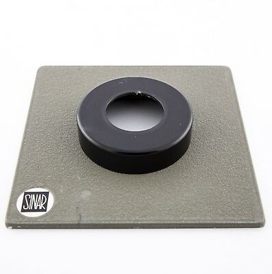 Sinar Norma Copal 0 raised top-hat lens board for Sinar F, F1, P1, P2, Norma etc