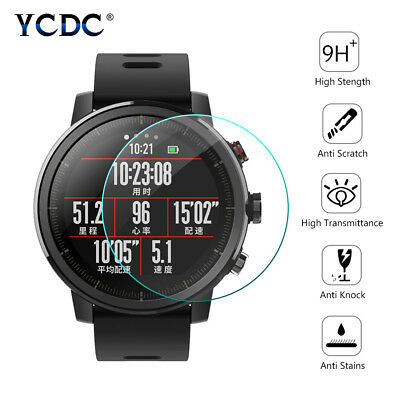 23-46mm tempered glass smart watch screen protector 2.5D for ticwatch 2/s/e/pro