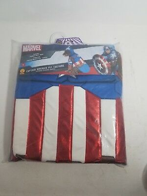 Marvel Captain America Dog Superhero Avenger Costume XL Extra Large
