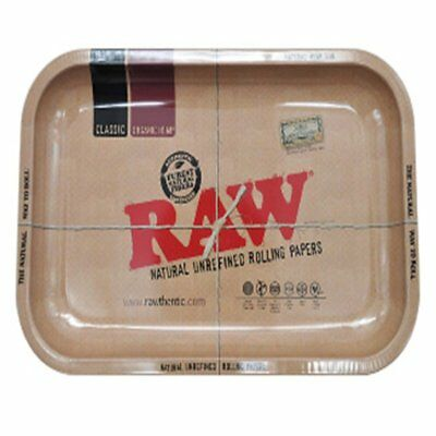 Raw Iron Plate Storage Tray Cigarette Essential Accessories Raw Rolling Trays ZL