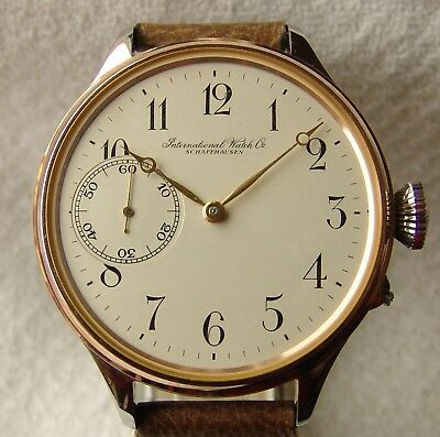 VERY RARE IWC cal.32 POCKET WATCH MOVEMENT GOOD CONDITION pre - 1885.