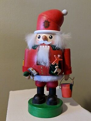 Richard Glässer Handarbeit Vintage German Santa Nutcracker