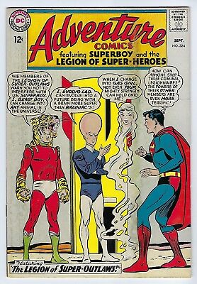 Adventure Comics #324 1964 Very Good+/Fine (5.0)