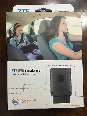ZTE Mobley 4g LTE Wi-fi Hotspot VM6200 At&t with USB adapter