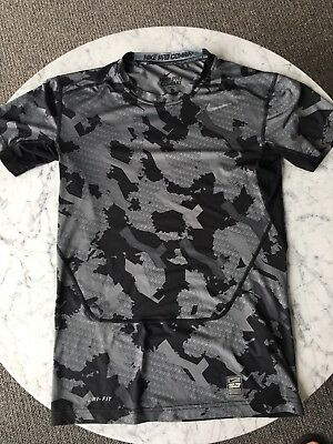 7e79ac04dac39 NIKE PRO COMBAT Fitted Shirts Mens Large - Set Of 2 Shirts - Camo ...