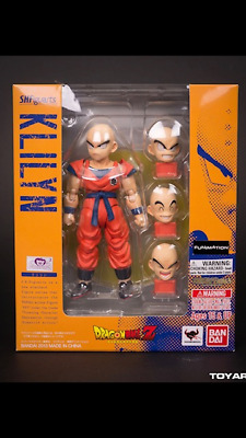 Bandai Tamashii Nations S.H Figuarts Dragon Ball Z Krillen New with Mailer Box