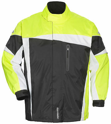 Tourmaster DEFENDER 2.0 Rainsuit Black/Hi Viz