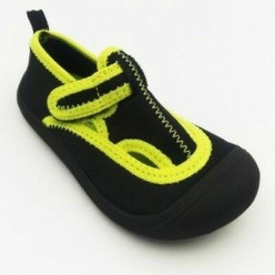 NEW CAT & JACK Duke Water Shoes Black Toddler Boys Size M 7/8