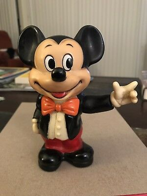 Mickey and Minnie Mouse, 70's Plastic Banks