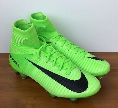 sneakers for cheap 5da7a d7865 Nike Mercurial Superfly V 5 SG-Pro Green Soccer Cleats 831956-305 Men s Size
