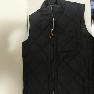 J.Crew Men's Sussex Quilted Vest - NAVY BLUE XS  fits a Small 35919