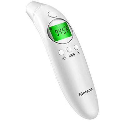 Metene Digital Infrared Forehead and Ear Thermometer FDIR-V16