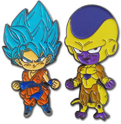Dragon Ball Super - Goku & Golden Frieza Pins 6998585 (Game Misc Used Very Good)