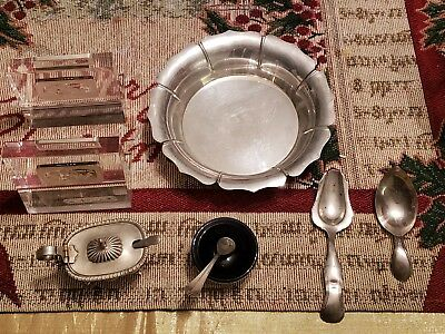 Lot of Vintage Estate STERLING Silver & 800 flatware and others - 240 grams