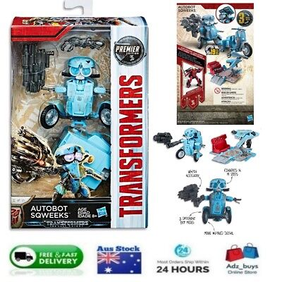 Hasbro TRANSFORMERS AUTOBOT SQWEEKS  3 modes Deluxe Class BRAND NEW AUS STOCK