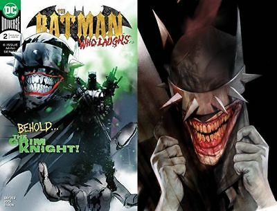 Batman Who Laughs # 2 A and B JOCK/Oliver Cover Variants set NM+ Ships FAST FREE