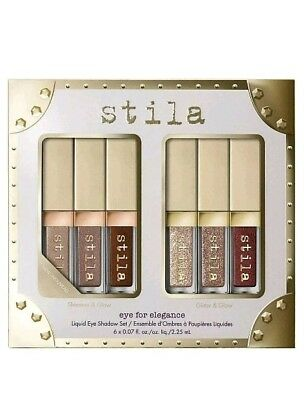 STILA | Eye For Elegance Liquid Eye Shadow 6pc Set | Authentic | SOLD OUT
