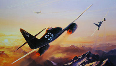 Gifts Art wall HD printed oil painting Canvas ww2 war Retro Vintage Fighter f120