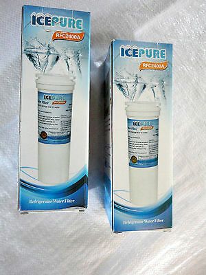 2 x compatible Fisher & Paykel fridge water filter IcePure Finerfilters Vyair