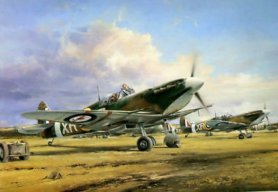 Art wall HD prints oil painting on canvas ww2 war Retro Vintage Fighter Gifts 65
