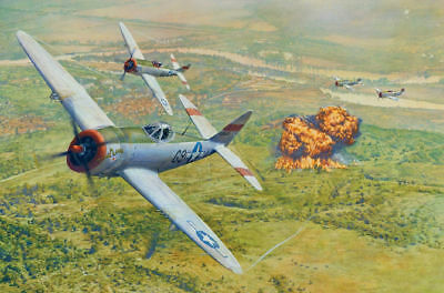 Art wall HD prints oil painting on canvas ww2 war Retro Vintage Fighter Gifts 74