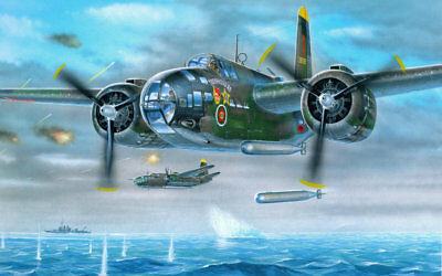 Art wall HD prints oil painting on canvas ww2 war Retro Vintage Fighter Gifts 82