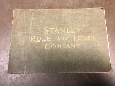 Vintage Stanley Rule & Level Company Catalog No. 102 Reprint 1977 Stanley Tools