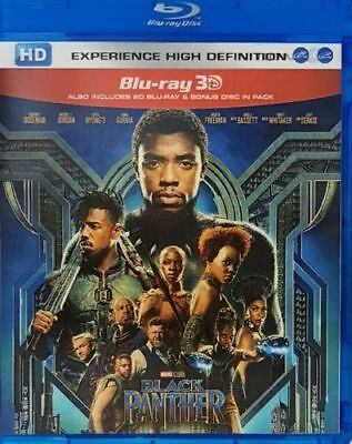Black Panther 3D Blu-ray Region Free Best Offer