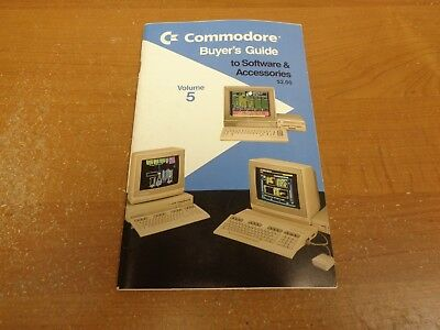 1988 Commodore Buyer's Guide to Software & Accessories, Volume 5